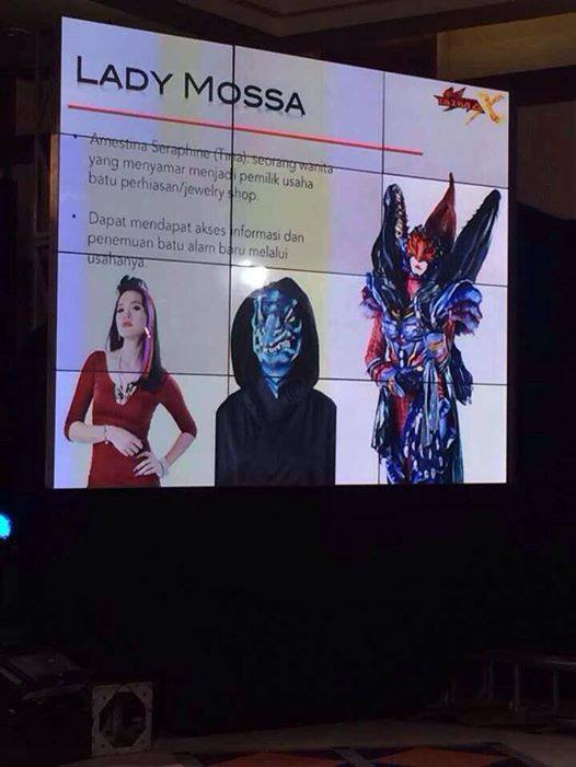 Bima Satria Garuda X  - Lady Mosa