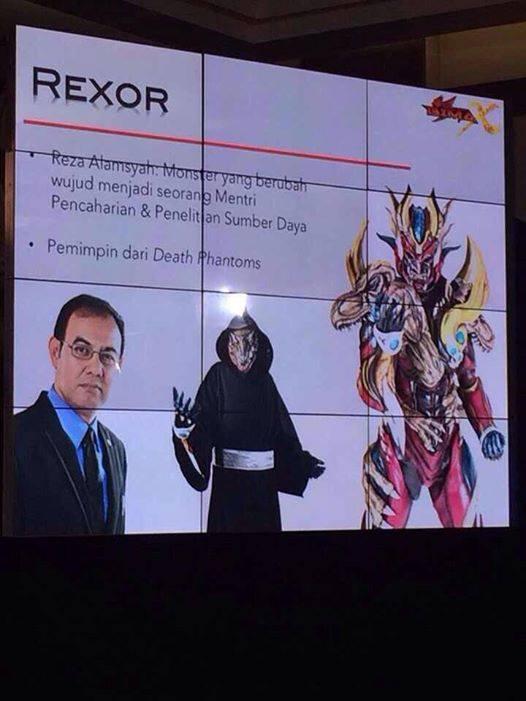 Bima Satria Garuda X  - Rexor