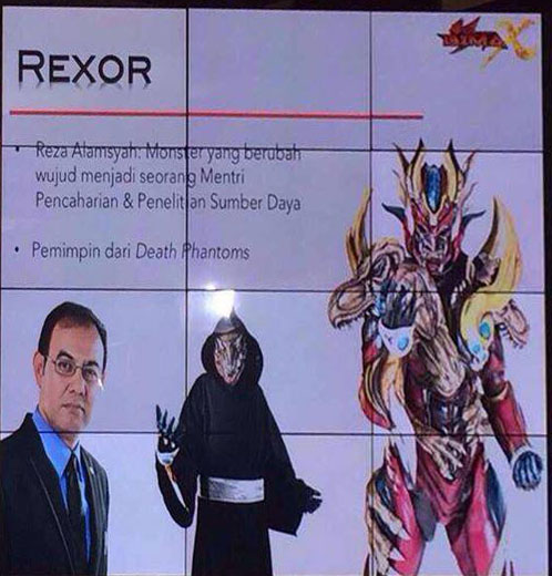 Bima Satria Garuda X  - Rexorcr