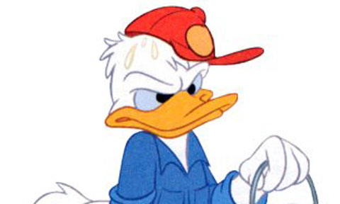 Donald Duck Mecucu