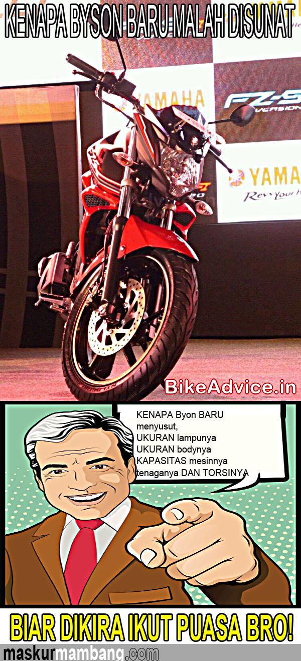 KENAPA Yamaha Byson FI menyusut