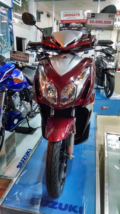 New Suzuki Impulse 125 Vietnam (12)
