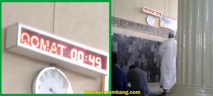 Qamat Countdown Timer