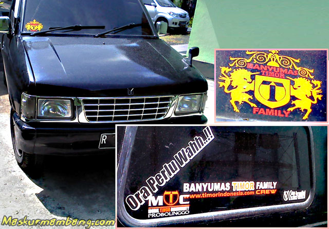 Beda Mobil Beda Sticker - Panther - Timor