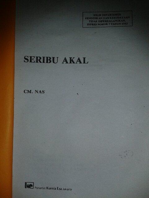#seribuakal1