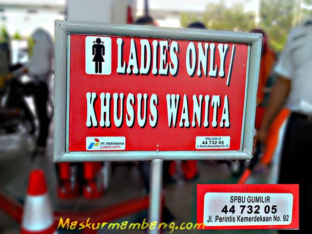 Dispenser Khusus Wanita