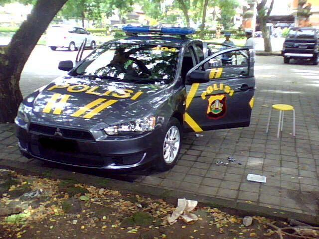 Lancer EX polisi