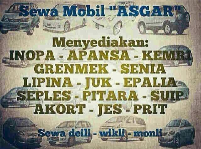 Sewa Mobil Sunda