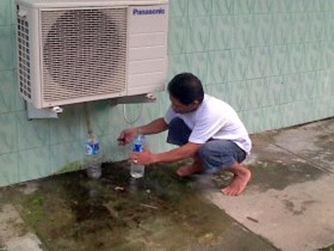 Air Buangan AC
