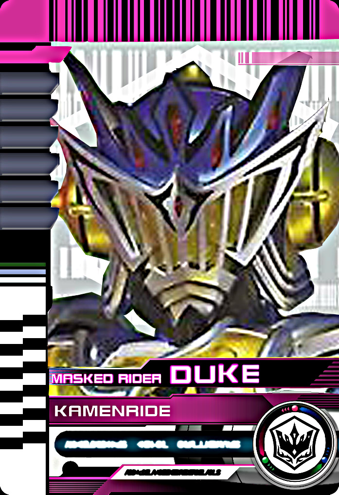 Kamen Rrider Duke Card