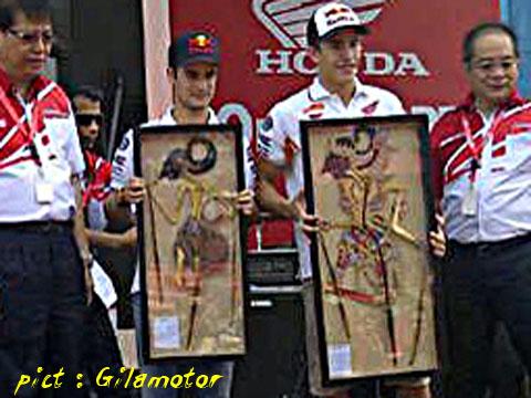 Pedrosa arjuna Marquez Gatotkaca