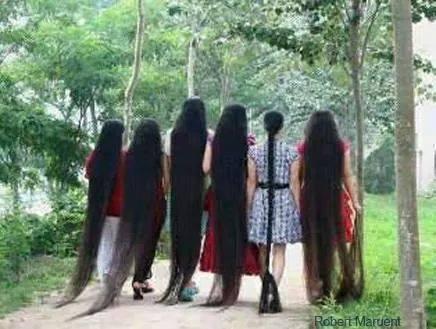 Rambut Panjang sampai kaki