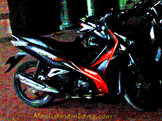 Supra X 125 Helm In Night