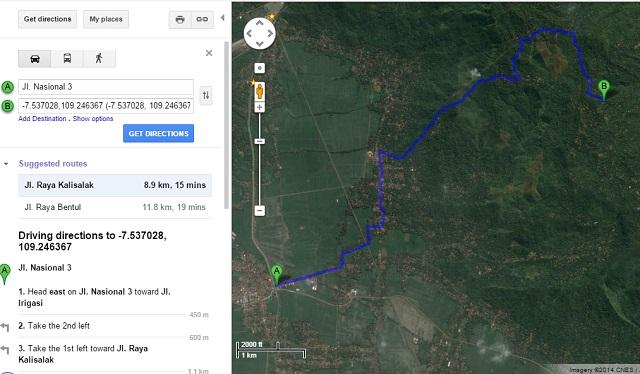 Warung Sate Binangun Peta Dari Sampang