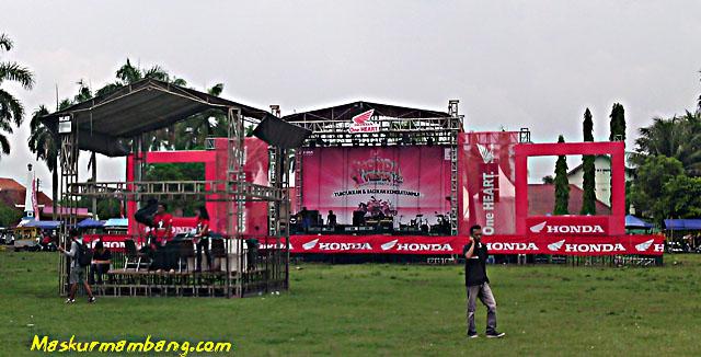 Honda Fiesta 2014 - Panggung
