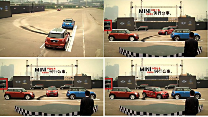 Tightest parallel parking record beaten at new Mini launch -- Guinness World Records