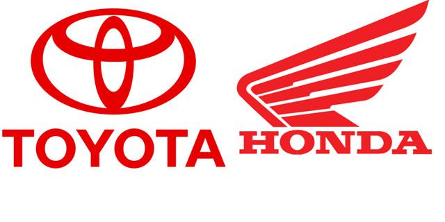 Toyota dan honda motor