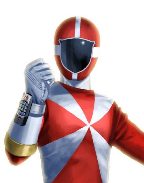 Kyuukyuu Sentai GoGoFive red