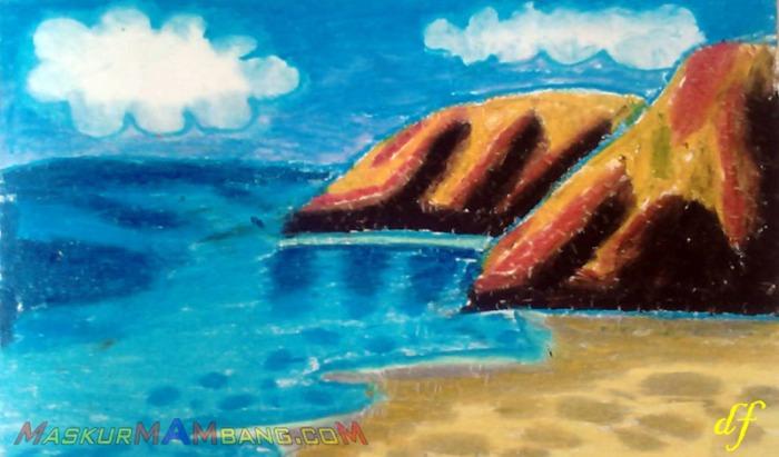 Menggambar Pantai (1)