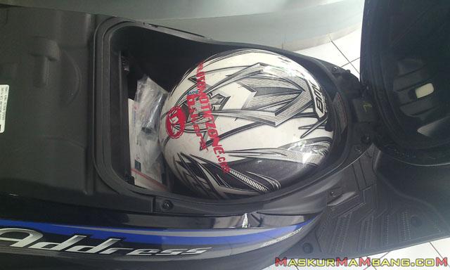 Suzuki Adress Testride 06