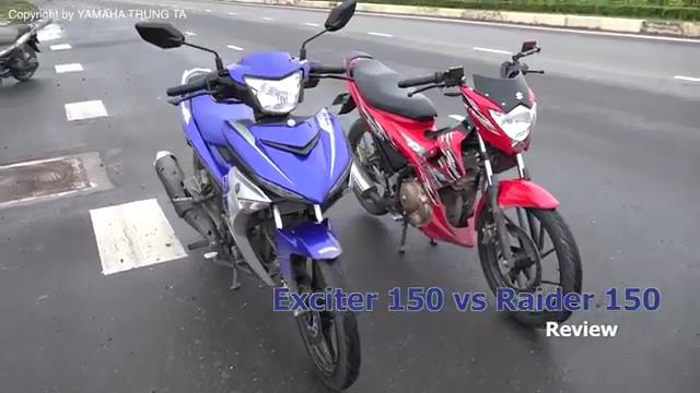 Exciter 150 vs Raider 150 adu ganteng
