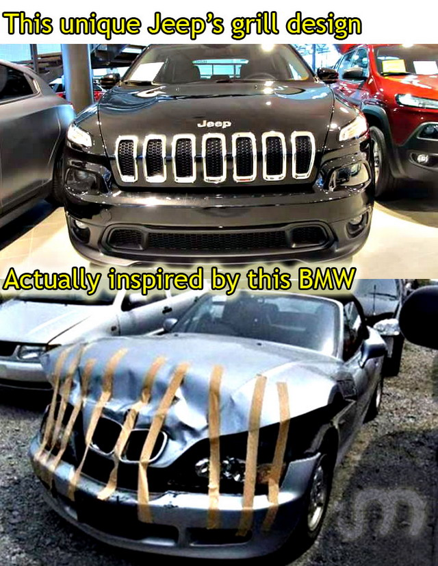 Jeep Inspired by BMW