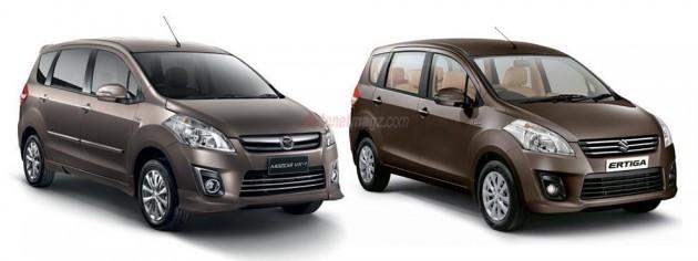 Mazda_VX-1_dengan_Suzuki_Ertiga