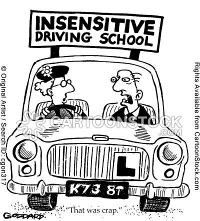 Belajar menyetir