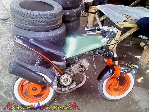 Modifikasi Matic 80 cc Mini