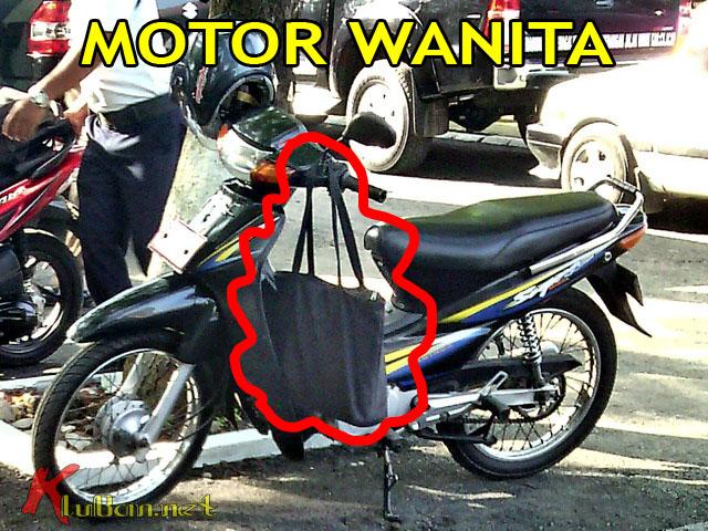 Motor Menggantung Tas
