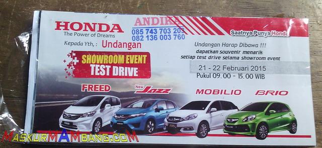 Testdrive Honda HRV (0)