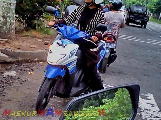 Suzuki Nex Biru Baru