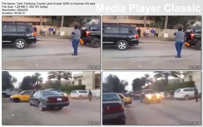 Tarik Tambang Toyota Land Cruiser GXR vs Hummer H3