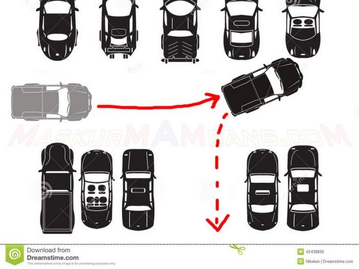 posisi parkir 1