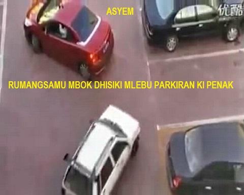 rebutan parkir
