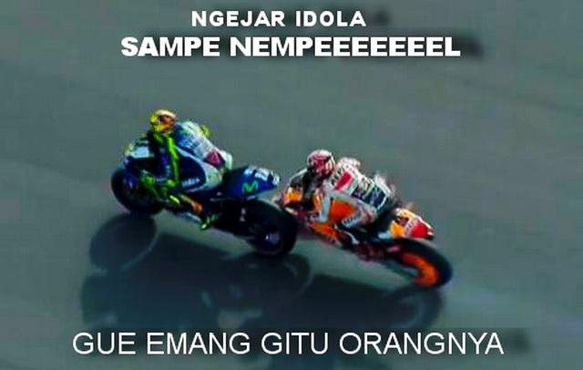 Rossi vs Marquez argentina 2015 - NEMPEEEEEEEEEL