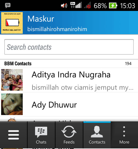 kontak BBM 00