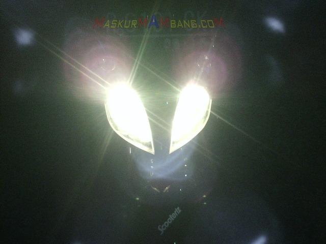 Lampu Depan Skywave