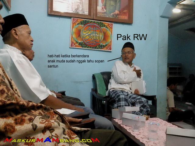 Pak RW Tentang Safety In riding