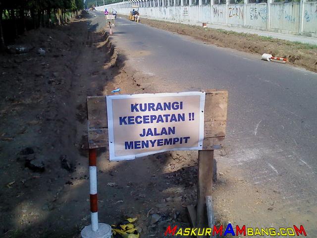 Rambu Perbaikan Jalan2