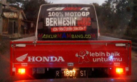 Mobil Antaran Honda - Motogp DOHC