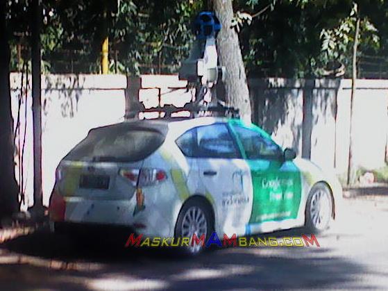 Mobil Google Streetview Cilacap 1