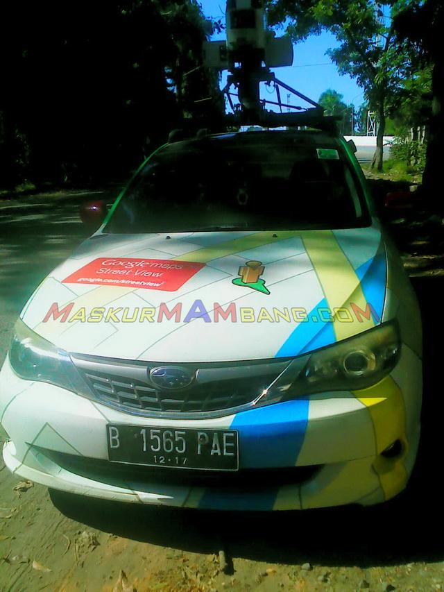 Mobil Google Streetview Cilacap 2