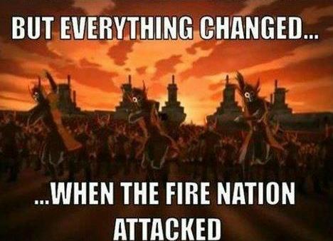 negara api menyerang
