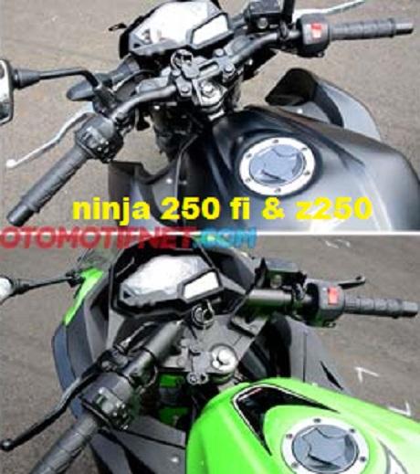 panel stang Ninja 250 fi & z250