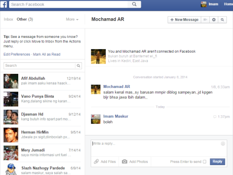facebook Inbox Other 2