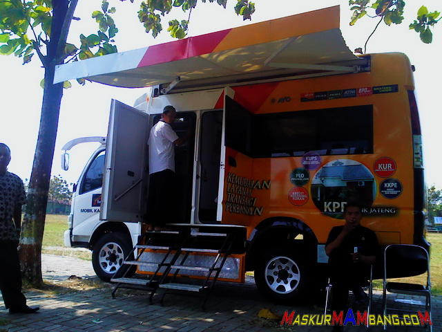 Mobil Kas Keliling Bank Jateng