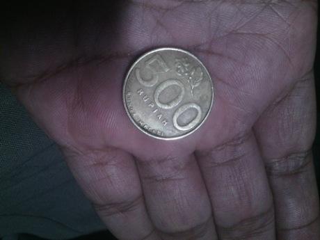 uang 500 perak