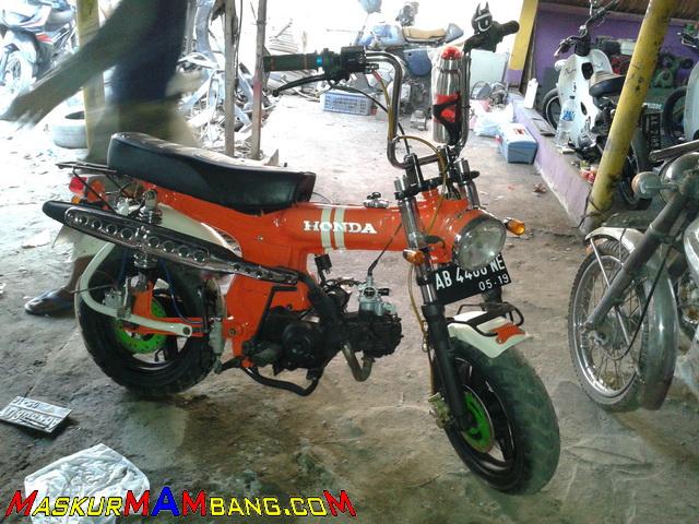 Honda Monkey Bangkit Lagi