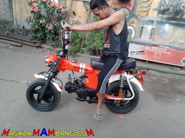 Honda Monkey Bangkit Lagi Maskurs Blog